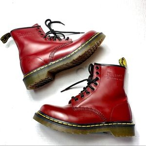 Dr Martens 1460 W women's  Boot Cherry Size 7
